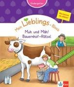 Cover-Bild zu Klett Mein Lieblings-Block Rätsel mit muh und mäh von Vorbach, Britta