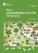 Cover-Bild zu Meine Lesespurgeschichten für Zuhause - Klasse 3/4 von Blomann, Sandra