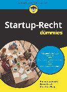 Cover-Bild zu Startup-Recht für Dummies (eBook) von von Lewinski, Kai