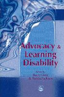 Cover-Bild zu Advocacy and Learning Disability von Gray, Barry
