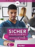 Cover-Bild zu Sicher in Alltag und Beruf! B2 - Medienpaket: 2 Audio-CDs zum Kursbuch, 2 Audio-CDs zum Arbeitsbuch und 1 DVD zum Kursbuch von Schwalb, Susanne