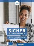 Cover-Bild zu Sicher in Alltag und Beruf! B1+ / 2 Audio-CDs zum Kursbuch. Medienpaket von Perlmann-Balme, Michaela