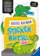 Cover-Bild zu Erstes Rechnen Sticker-Rätsel von Jebautzke, Kirstin
