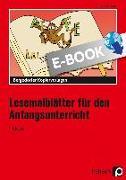 Cover-Bild zu Lesemalblätter für den Anfangsunterricht (eBook) von Jebautzke, Kirstin