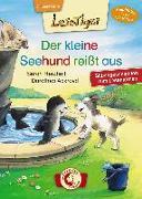 Cover-Bild zu Lesetiger - Der kleine Seehund reißt aus von Herzhoff, Sarah