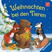 Cover-Bild zu Weihnachten bei den Tieren von Reider, Katja