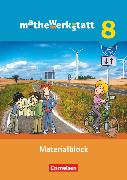 Cover-Bild zu Mathewerkstatt, Mittlerer Schulabschluss - Allgemeine Ausgabe, 8. Schuljahr, Materialblock, Arbeitsmaterial mit Wissensspeicher