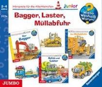 Cover-Bild zu Bagger, Laster, Müllabfuhr von Erne, Andrea