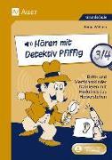 Cover-Bild zu Hören mit Detektiv Pfiffig Klasse 3/4 von Wehren, Bernd