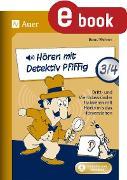 Cover-Bild zu Hören mit Detektiv Pfiffig Klasse 3/4 (eBook) von Wehren, Bernd
