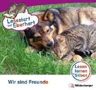 Cover-Bild zu Lesestart mit Eberhart: Wir sind Freunde von Brandau, Nicole