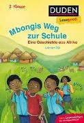 Cover-Bild zu Duden Leseprofi - Mbongis Weg zur Schule. Eine Geschichte aus Afrika, 2. Klasse von Dijk, Lutz van (Illustr.)