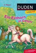 Cover-Bild zu Duden Leseprofi - Ein Einhorn in Gefahr, 2. Klasse von THiLO