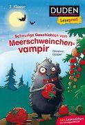 Cover-Bild zu Duden Leseprofi - Schaurige Geschichten vom Meerschweinchenvampir, 2. Klasse von Goppel, Christine