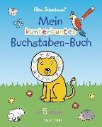 Cover-Bild zu Mein kunterbuntes Buchstaben-Buch. Spielerisch die Buchstaben von A bis Z lernen. Durchgehend farbig. Für Vorschulkinder ab 5 JahrenAb 5 von Sternbaum, Nico
