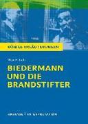 Cover-Bild zu Biedermann und die Brandstifter. Königs Erläuterungen (eBook) von Matzkowski, Bernd