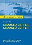 Cover-Bild zu Crooked Letter, Crooked Letter von Tom Franklin. Königs Erläuterungen Spezial (eBook) von Franklin, Tom