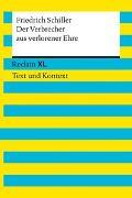 Cover-Bild zu Der Verbrecher aus verlorener Ehre. Textausgabe mit Kommentar und Materialien von Schiller, Friedrich