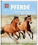 Cover-Bild zu WAS IST WAS Band 27 Pferde. Von frechen Fohlen und wilden Mustangs von Behling, Silke