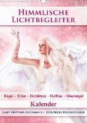 Cover-Bild zu Himmlische Lichtbegleiter - Kalender (Wandkalender 2021 DIN A3 hoch) von Shayana Hoffmann, Gaby