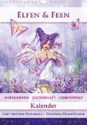Cover-Bild zu Elfen & Feen - Kalender (Wandkalender 2021 DIN A4 hoch) von Shayana Hoffmann, Gaby
