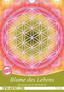 Cover-Bild zu Blume des Lebens - Harmonie durch Symbolkraft (Wandkalender 2021 DIN A4 hoch) von Shayana Hoffmann, Gaby