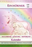 Cover-Bild zu Einhörner - Kalender (Tischkalender 2021 DIN A5 hoch) von Shayana Hoffmann, Gaby