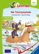 Cover-Bild zu Die Tierolympiade - Leserabe ab Vorschule - Erstlesebuch für Kinder ab 5 Jahren von Wich, Henriette