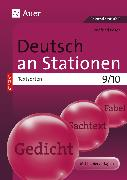 Cover-Bild zu Deutsch an Stationen SPEZIAL Textsorten 9-10 von Röser, Winfried