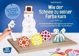 Cover-Bild zu Wie der Schnee zu seiner Farbe kam von Scherzer, Gabi