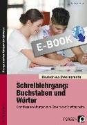 Cover-Bild zu Schreiblehrgang: Buchstaben und Wörter - Sek I (eBook) von Amberger, Karola
