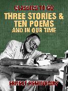 Cover-Bild zu Three Stories & Ten Poems and In Our Time (eBook) von Hemingway, Ernest