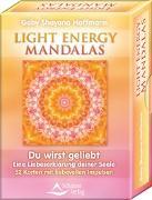 Cover-Bild zu Light Energy Mandalas von Hoffmann, Gaby Shayana