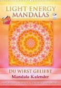 Cover-Bild zu Light Energy Mandalas - Kalender - Vol. 1 (Wandkalender 2021 DIN A2 hoch) von Shayana Hoffmann, Gaby
