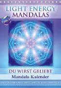 Cover-Bild zu Light Energy Mandalas - Kalender - Vol. 2 (Tischkalender 2021 DIN A5 hoch) von Shayana Hoffmann, Gaby