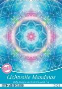 Cover-Bild zu Lichtvolle Mandalas (Wandkalender 2021 DIN A2 hoch) von Shayana Hoffmann, Gaby