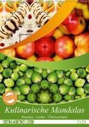 Cover-Bild zu Kulinarische Mandalas (Wandkalender 2021 DIN A2 hoch) von Shayana Hoffmann, Gaby