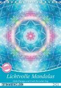 Cover-Bild zu Lichtvolle Mandalas (Tischkalender 2021 DIN A5 hoch) von Shayana Hoffmann, Gaby
