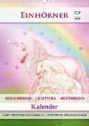 Cover-Bild zu Einhörner - Kalender (Wandkalender 2021 DIN A3 hoch) von Shayana Hoffmann, Gaby