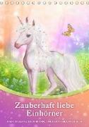 Cover-Bild zu Zauberhaft liebe Einhörner - Kalender (Tischkalender 2021 DIN A5 hoch) von Shayana Hoffmann, Gaby