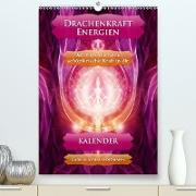 Cover-Bild zu Drachenkraft-Energien - Kalender (Premium, hochwertiger DIN A2 Wandkalender 2021, Kunstdruck in Hochglanz) von Shayana Hoffmann, Gaby