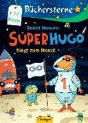 Cover-Bild zu Superhugo fliegt zum Mond! von Naoura, Salah