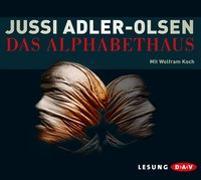 Cover-Bild zu Das Alphabethaus (6 CDs) von Adler-Olsen, Jussi