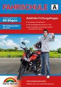 Cover-Bild zu Führerschein Fragebogen Klasse A, A1, A2 - Motorrad Theorieprüfung original amtlicher Fragenkatalog auf 70 Bögen von Markt+Technik Verlag GmbH