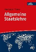 Cover-Bild zu Allgemeine Staatslehre (eBook) von Thiele, Alexander