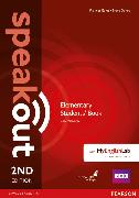 Cover-Bild zu Speakout 2nd Edition Elementary Coursebook with DVD Rom & MyEnglishLab von Eales, Frances