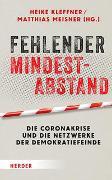 Cover-Bild zu Fehlender Mindestabstand von Kleffner, Heike (Hrsg.)