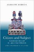 Cover-Bild zu Citizen and Subject von Mamdani, Mahmood