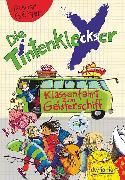 Cover-Bild zu Die Tintenkleckser 4 - Klassenfahrt zum Geisterschiff von Geisler, Dagmar