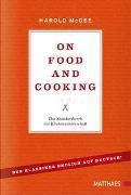 Cover-Bild zu On Food and Cooking von McGee, Harold